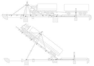 Авторазгрузчик ураг грузоподъемность схема приводной станции конвейера